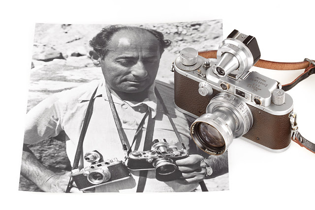 Eisenstaedt and his Leicas